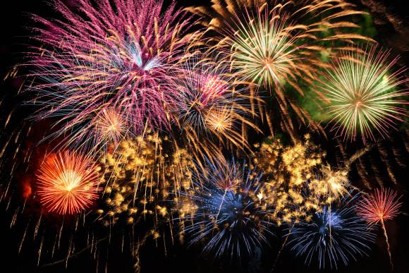 Fireworks 580x387